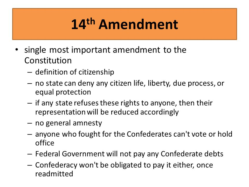 the three most important amendments of When the 26th amendment was being considered, why did the congress settle on 18 as the minimum age why not 17 or 16 what is the most important change in.