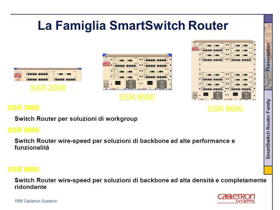 La Famiglia SmartSwitch Router