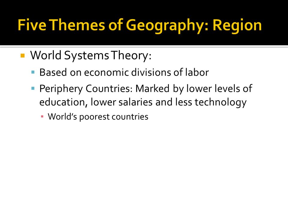 Unit Geography Its Nature And Perspectives Ppt Download - Five poorest countries