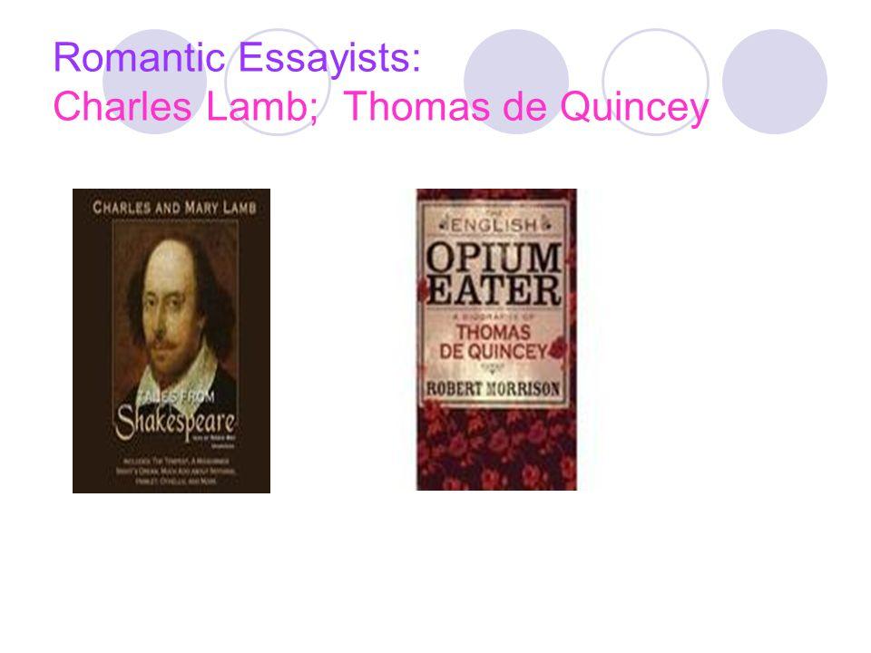 first english essayist
