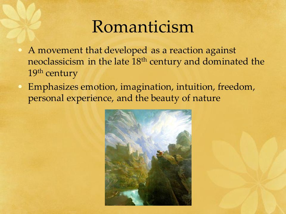romanticism and rationalism in the 18th and 19th century 2018-08-15  romanticism as a concept  romanticism was a reaction against the rationalism of the 18th century,  but by the 19th century,.