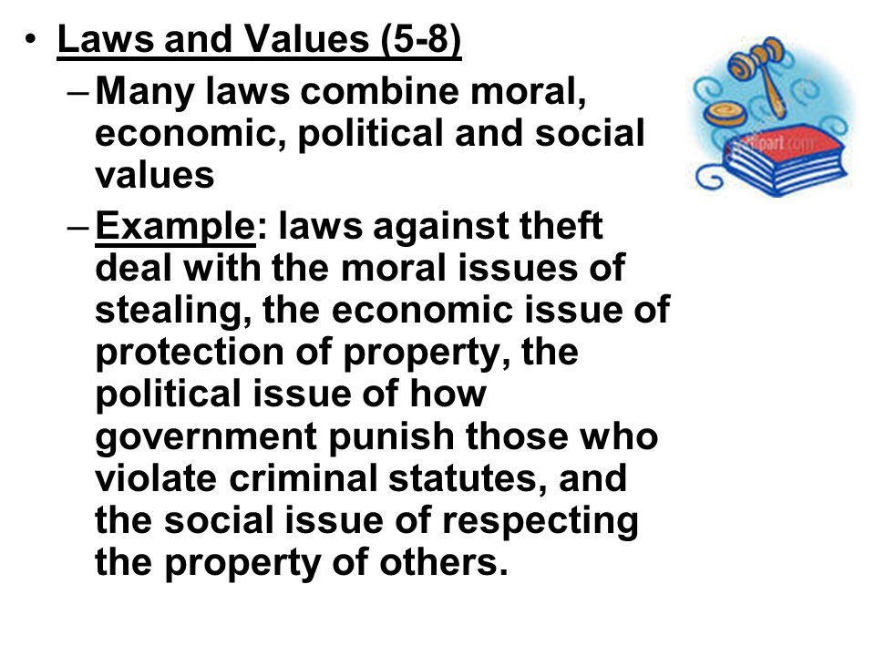 what are moral values in society