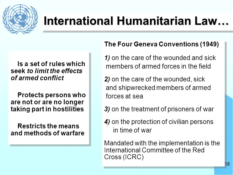 """the rules of international law as mandated by the united nations Governments in the international field by the acceptance of some system of legal rules and restraints"""" george f that principal organ of the united nations and affect the rule of law in international relations the thesis decisions adopted by the security council are mandatory for all states, as established by article 25."""