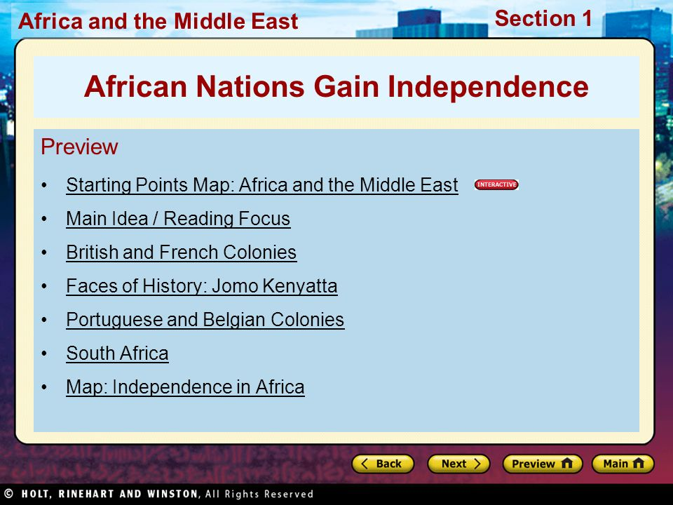 African Nations Gain Independence Ppt Video Online Download - What does this map tells us about african independence