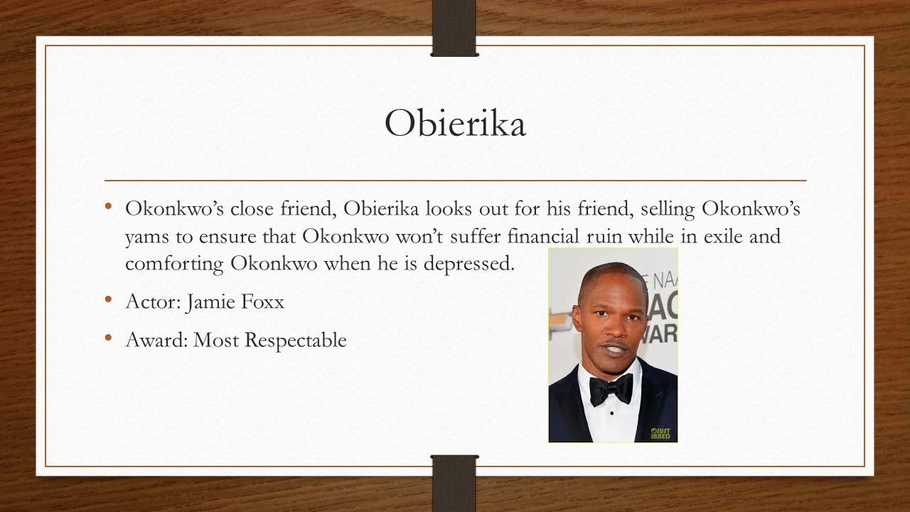 okonkwo and obierika relationship questions