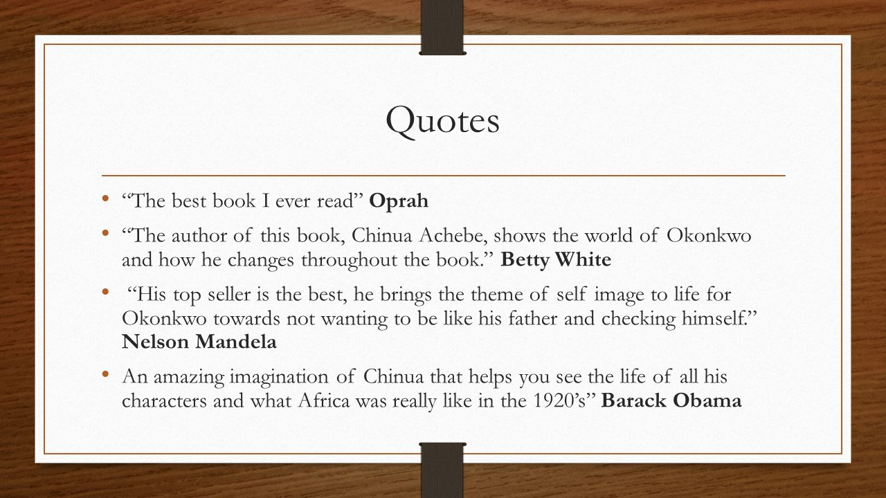 Quotes The best book I ever read Oprah