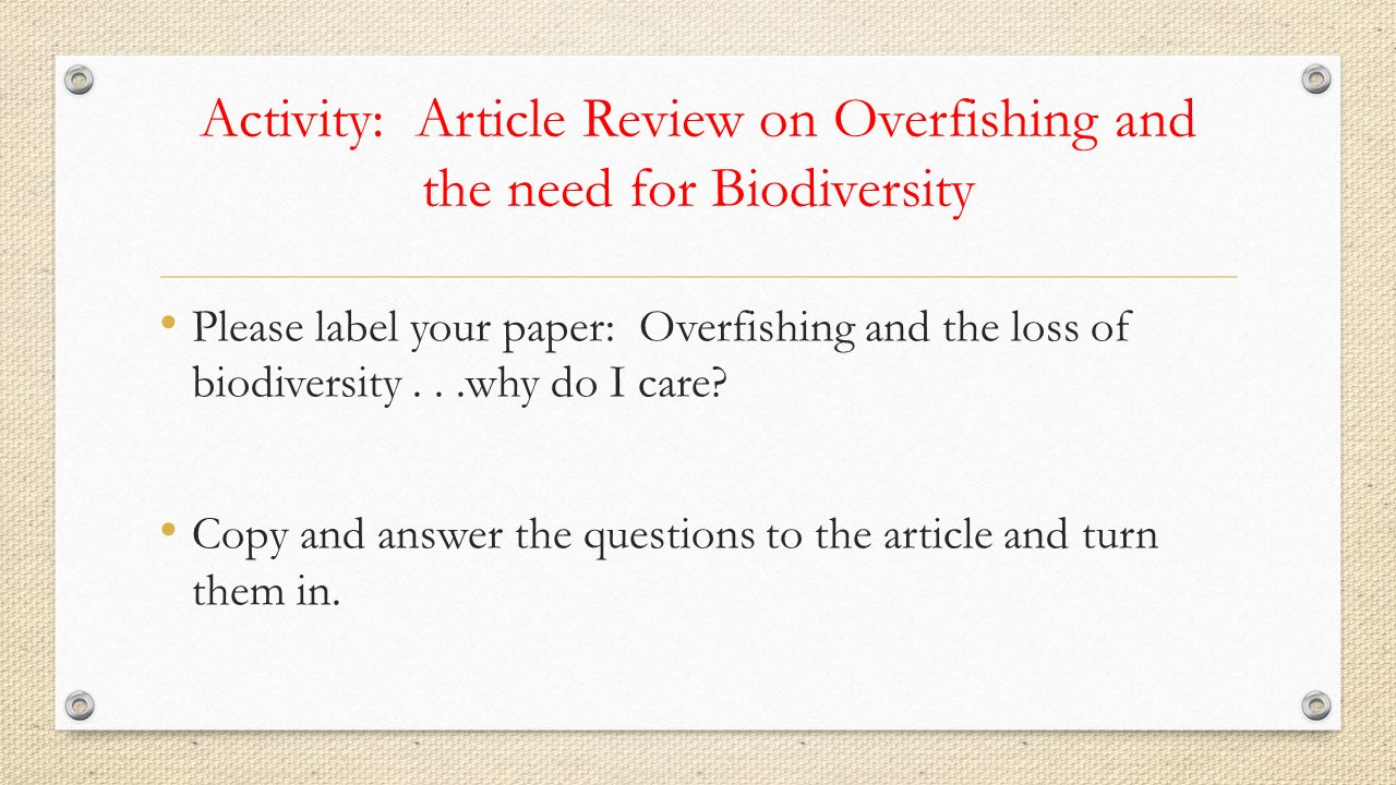 the consequences of overfishing essay This article is about overfishing the cause, effect, and prevention are all included the cause and effect of overfishing.