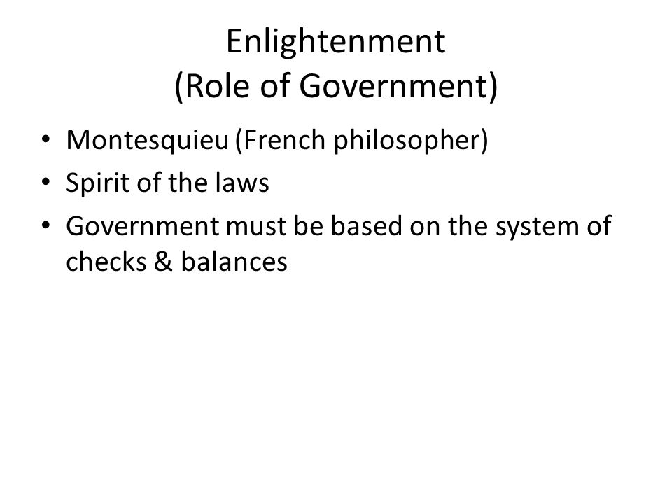 The Legitimate Role of Government in a Free Society
