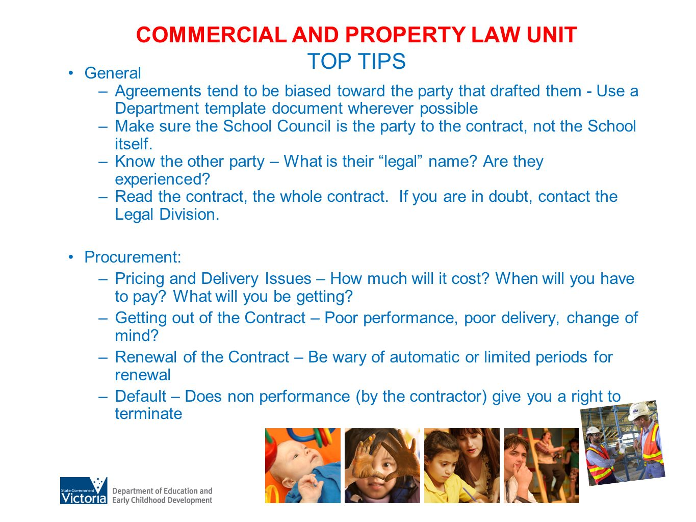 Commercial Property Law : Legal division who are we kate rattigan executive