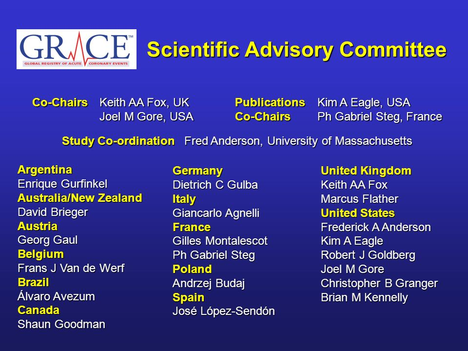 Scientific Advisory Committee