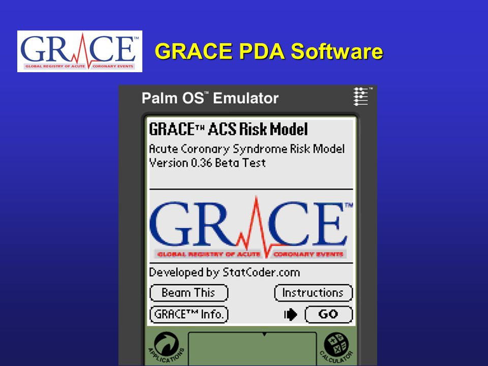 GRACE PDA Software