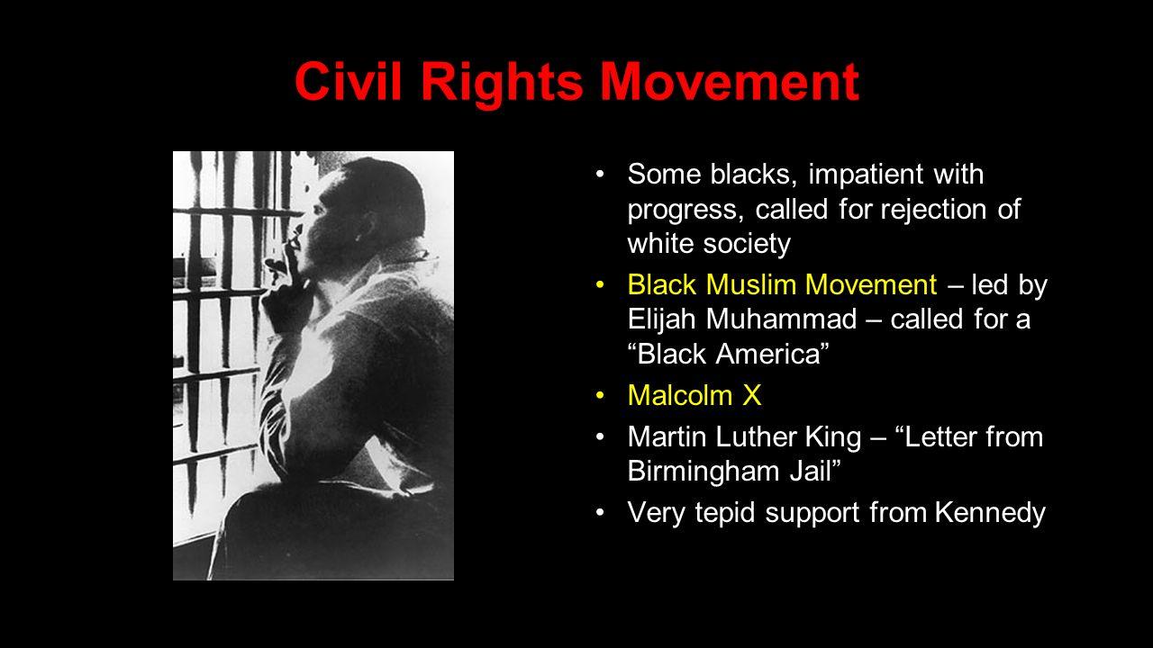 the black revolution malcolm x letter from birmingham jail