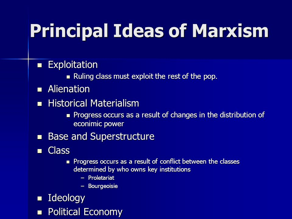 An examination of the theories and goals of a communist society by karl marx and friedrich engels in