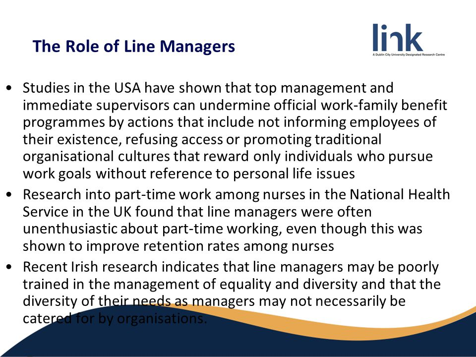 the role of line managers and While hrm has long been part of the line manager's role, it has now become a  crucial component unfortunately, for many line managers, their hrm role is.