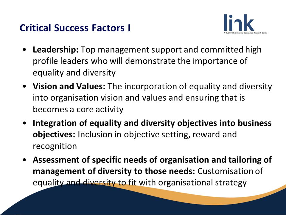 6004 leading equality and diversity The level 6od qualifications in advanced management and leadership are  designed to develop the role and  unit 6004od leading equality and diversity  - this unit focuses on the commitment and application of opportunity and diversity  7.