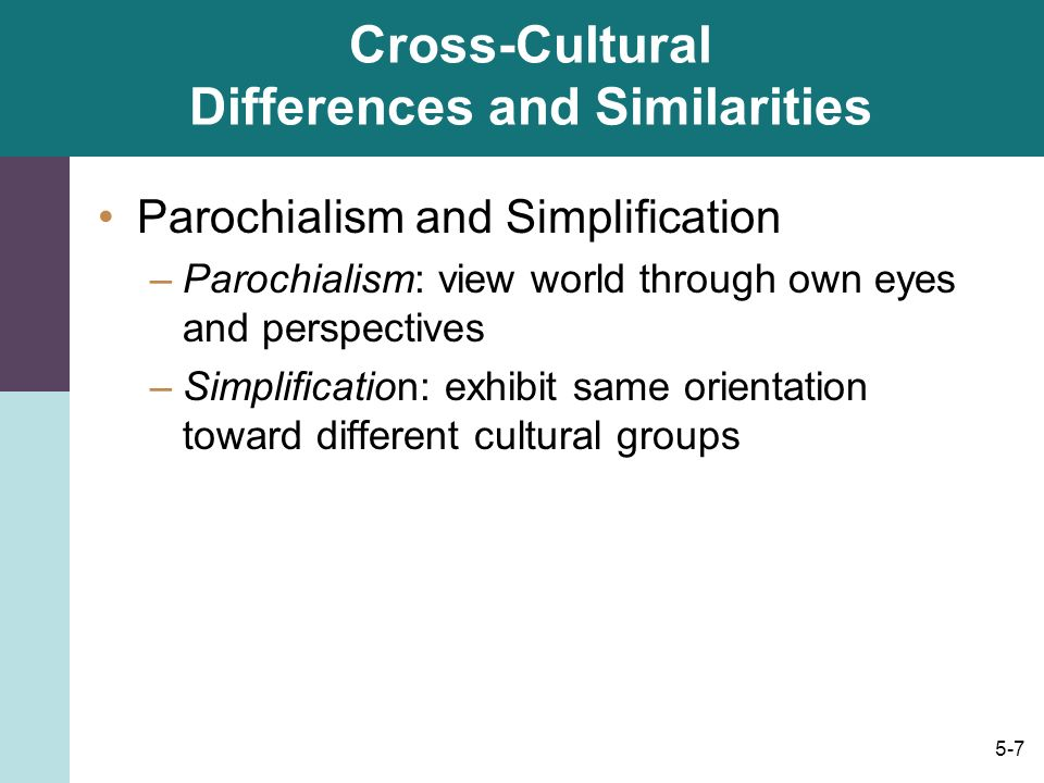 understanding cross cultural differences through the Methodology: the cultural differences were discovered through a  become  familiar with different cultural values to understand how to prioritize cultural  norms,.