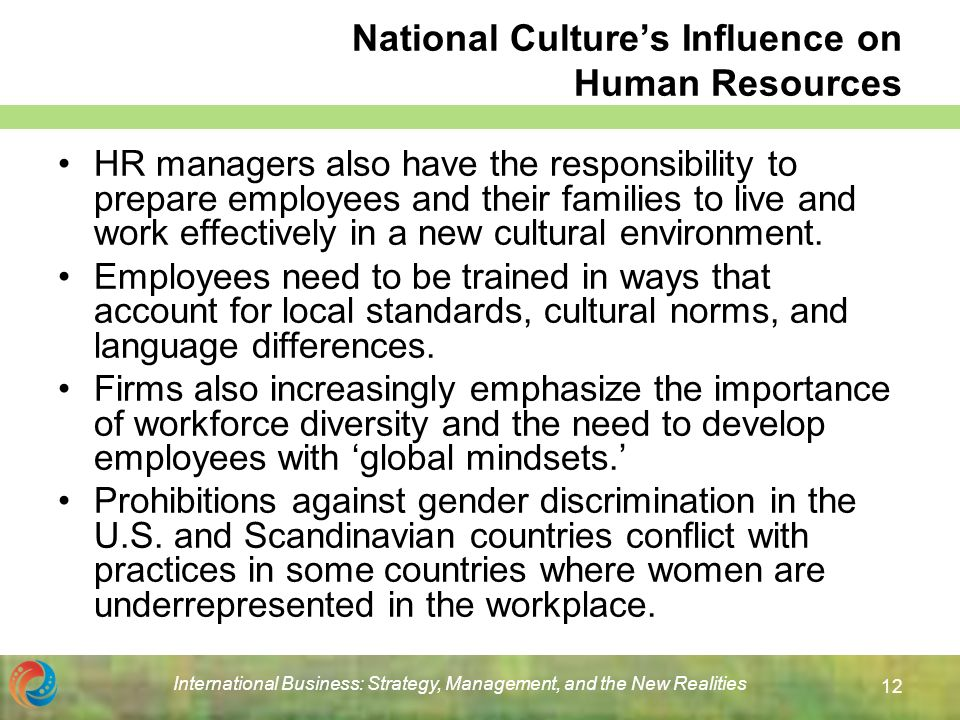 the influence of a countrys culture to how a business operates Effects of cultural differences in international business  culture can influence the business in different ways language problems, pricing difficulties.
