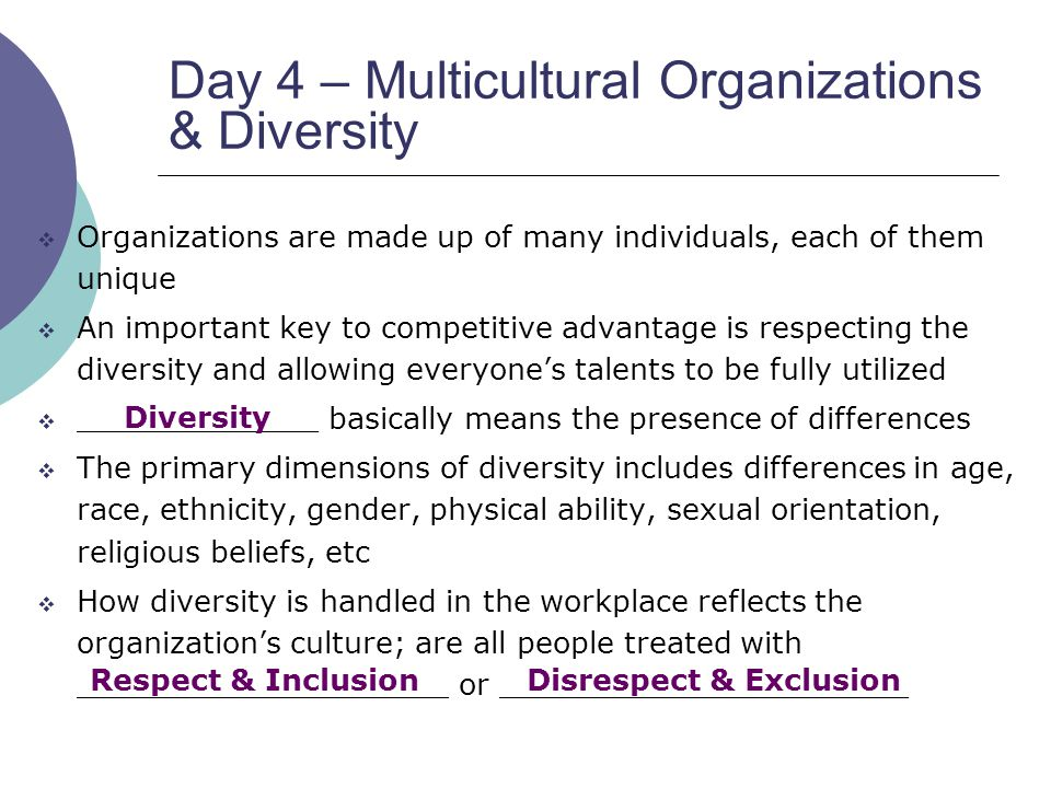 key characteristics of multicultural organizations This paper provides a definition of leadership, explores global leadership, and  how  key words: global leadership, multi-cultural organization, management.