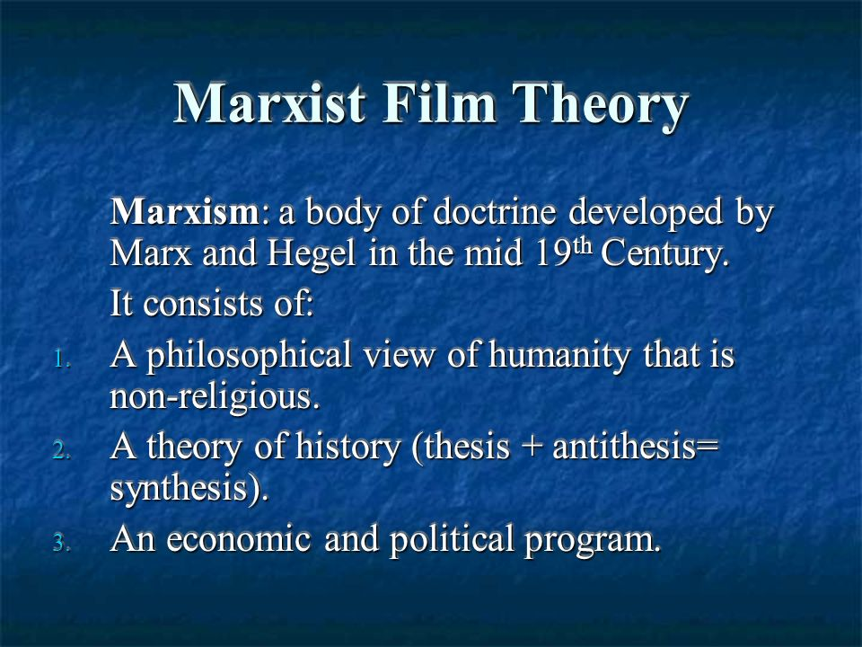 marxist thesis antithesis Marx's position was also dialectical, however but whereas hegel believed that the historical process resulted from the conflict of ideas (thesis, antithesis, synthesis), marx believed that the historical process derived from a conflict in the material world—a conflict between the forces of production and the social relations of production.