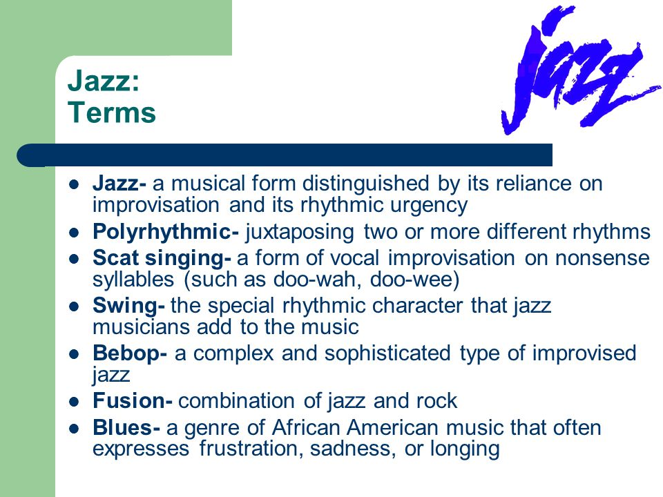 a comparison of the classical and jazz music forms Comparison of jazz and classical music  jazz vs classical music upon entering a modern record store, one is confronted with a wide variety of choices in recorded music.