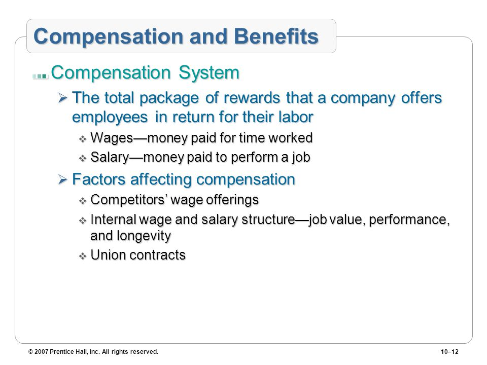 variables affecting the wages of individuals Issues such as gender, age, salary and stress have been known to affect work habits previous research has documented the individual effect of motivation on job performance as well as the effect of job satisfaction (judge, thoresen, bono, patton, 2001) on job performance.