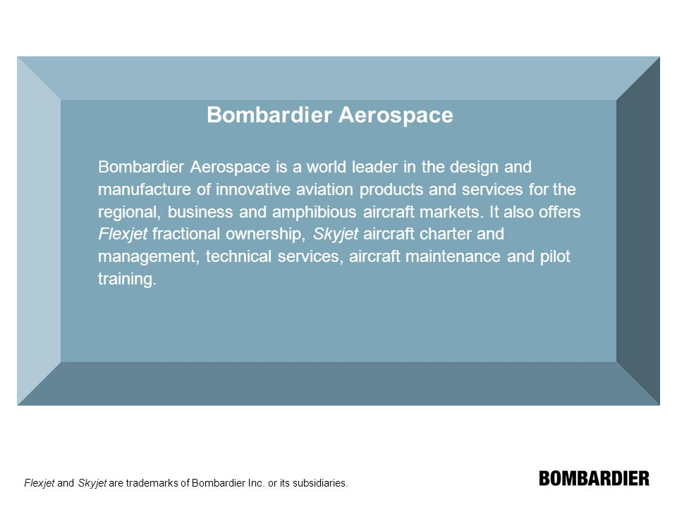 Bombardier Aerospace: The CSeries Dilemma Case Study Memo