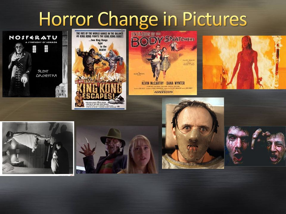 Horror Change in Pictures