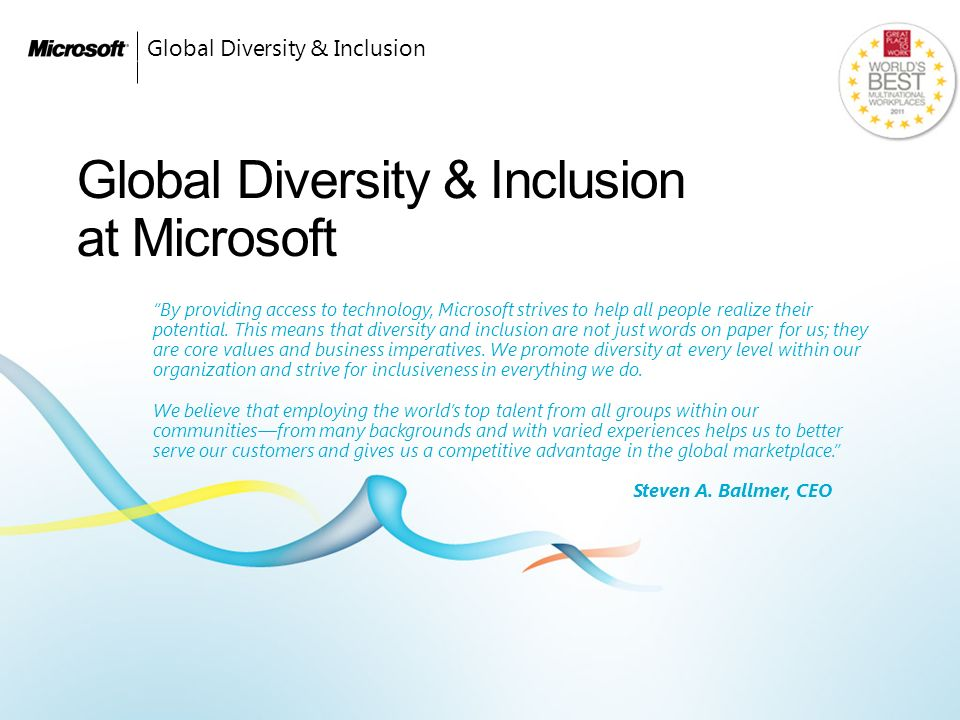 workplace diversity and us's global competitive Free diversity workplace papers, essays, and  the global market in which american corporations must now do business became intensely competitive the makeup of the us work force began changing dramatically, becoming more diverse  - in the context of the global workplace, valuing diversity cultivates an environment that respects and.