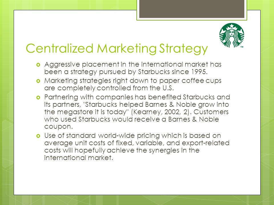 the history of starbucks coffee thailand marketing essay 1971 starbucks coffee, tea, and spice store (coffee bean roasting) opened   brand inventory background: thailand 1998 - first launch at central chidlom   brand inventory designing marketing programs product strategy.