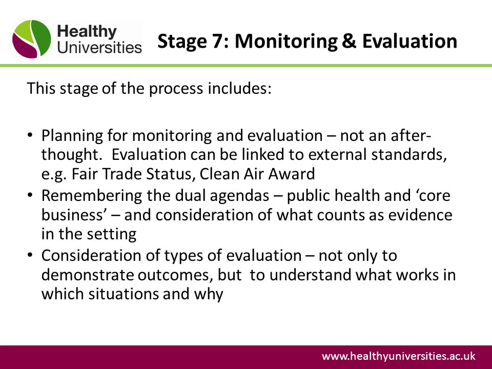 monitoring and evaluation in public health pdf