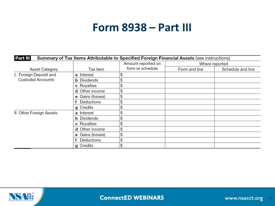 What Is Form 8938 Ibovnathandedecker