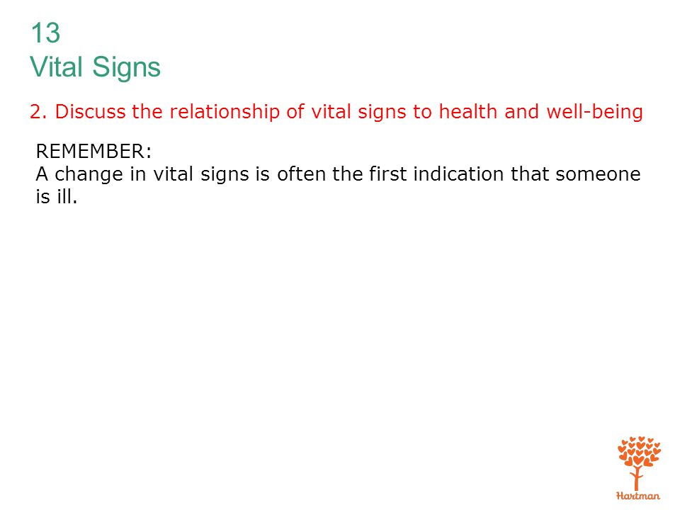 importance of vital signs