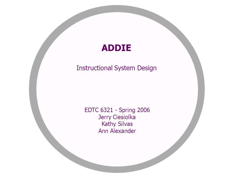 Instructional System Design Ppt Video Online Download