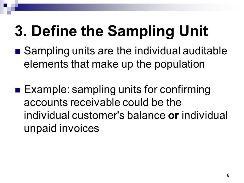 sampling definition in electronics