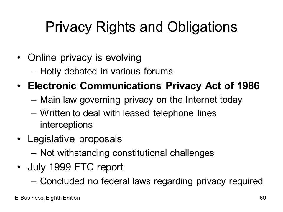 the issue of online privacy and internet regulation in the united states The deputy prime minister, nick clegg, gave a speech at the royal united services institute on security and privacy in the internet age.