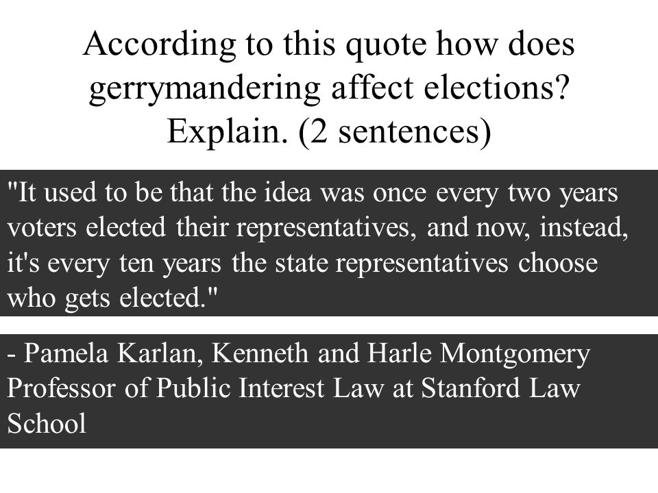When you come in Look at the quotes ppt download – Gerrymandering Worksheet
