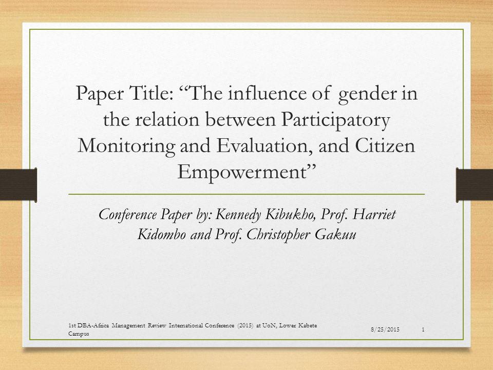 the distrust between the sexes essay