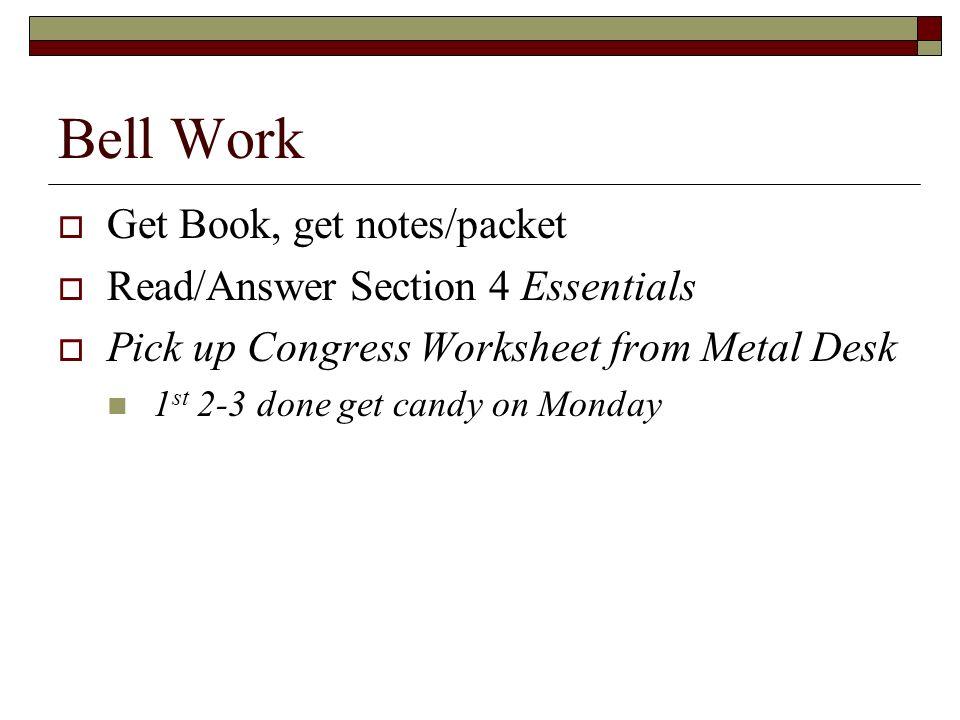 bell work get notes packet from back ppt video online download. Black Bedroom Furniture Sets. Home Design Ideas