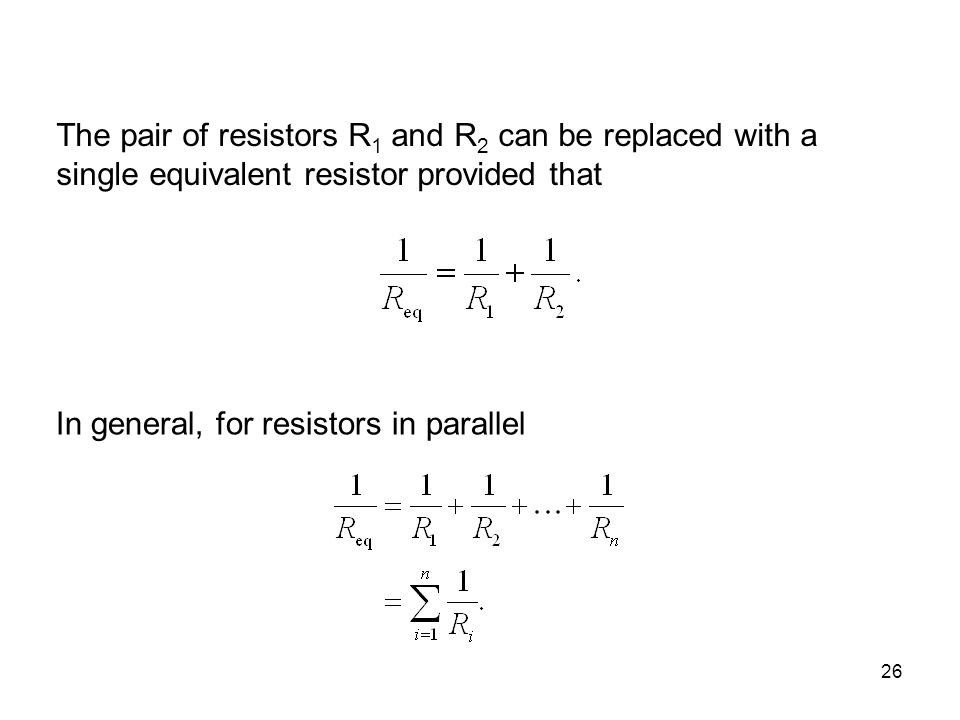 The pair of resistors R1 and R2 can be replaced with a single equivalent resistor provided that