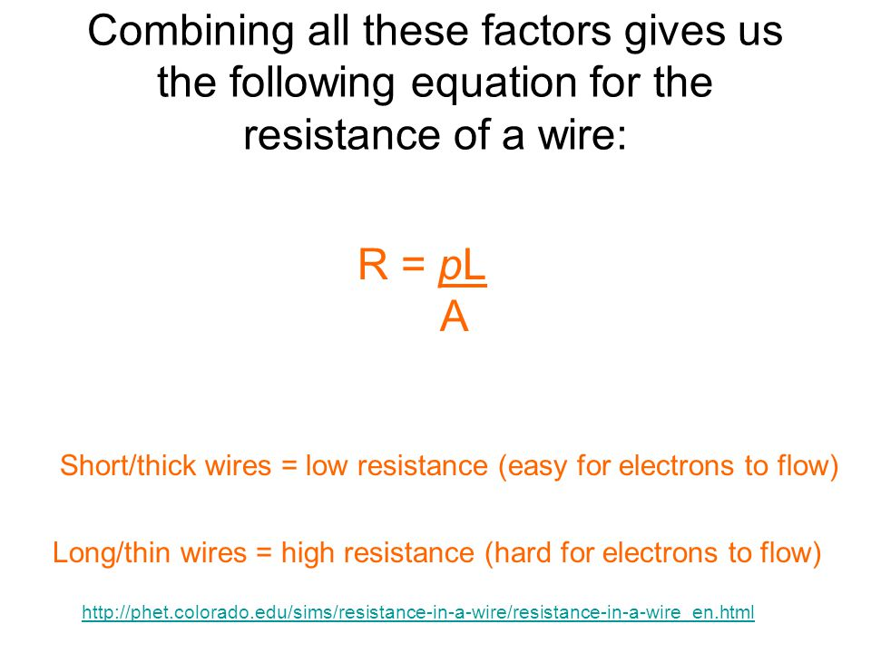 how to find resistivity of a wire
