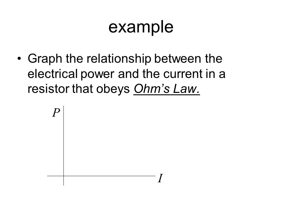 relationship between current power and electrical energy used by electric appliances