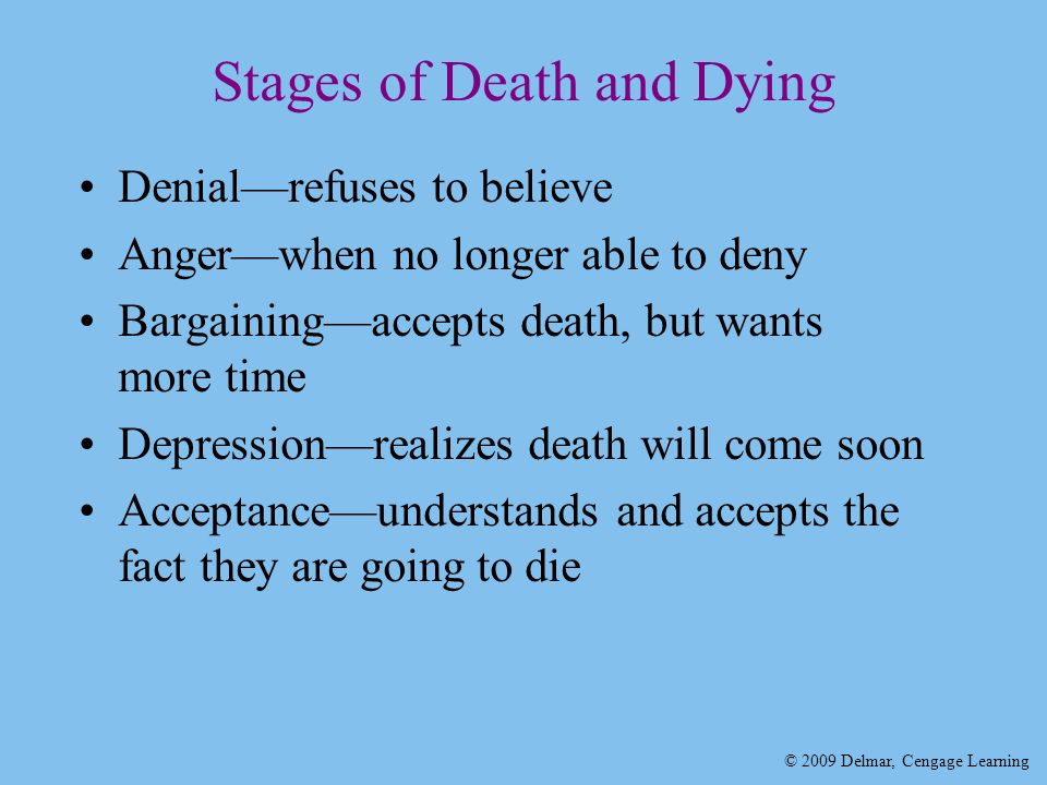 The issue of death and dying in healthcare