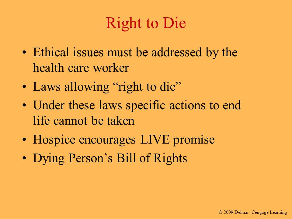 moral implications of the humans right to die Close-up the right to die -- legal, ethical issues of the cruzan case far from resolved by virginia young st louis post-dispatch.