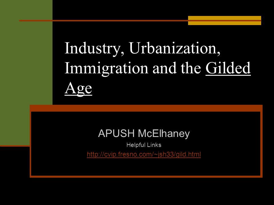 apush essays on gilded age