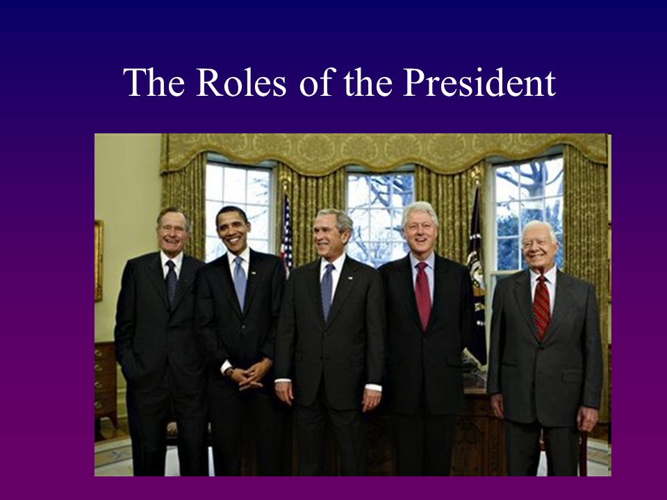 roles of president