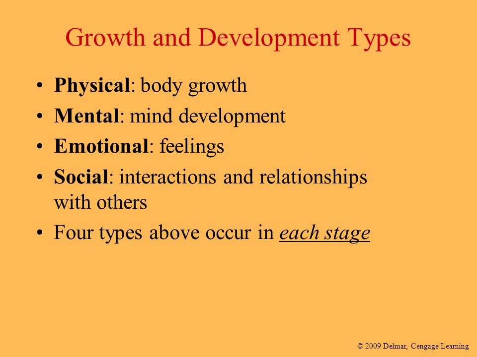 stages of human growth and development pdf