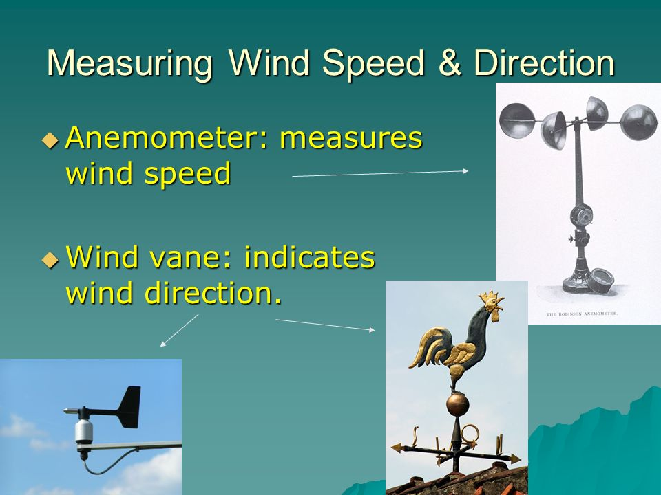 Measuring Wind Speed & Direction