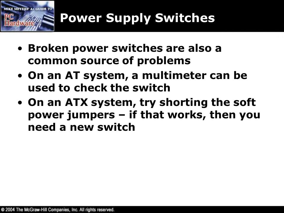 power supplies chapter ppt download