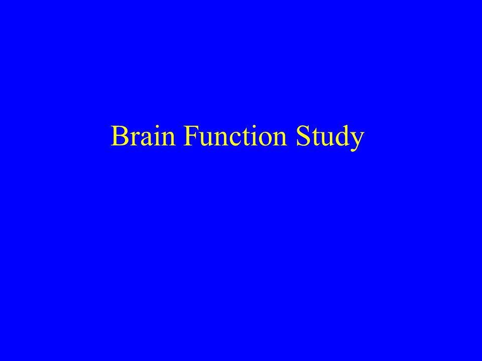 Brain Function Study