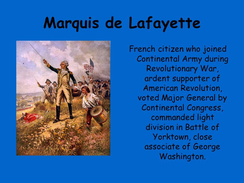 American Revolution Soldiers